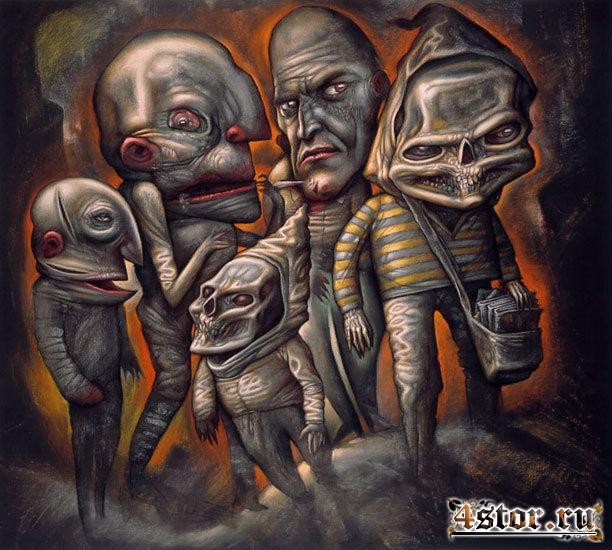 Картины Криса Марса