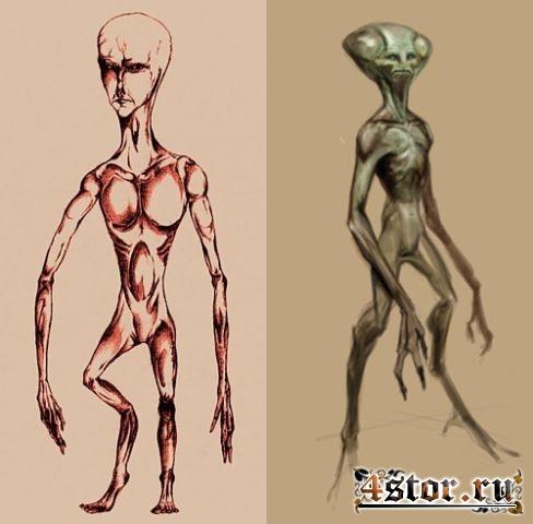 Фотографии пришельцев