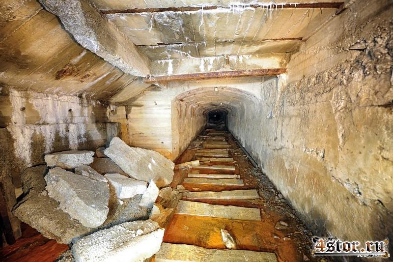 Тоннель рудника Приморский