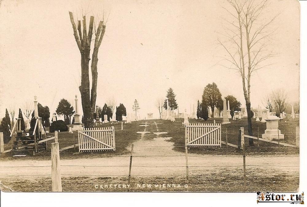 Старинные фотографии кладбищ и мест захоронения. Часть 2