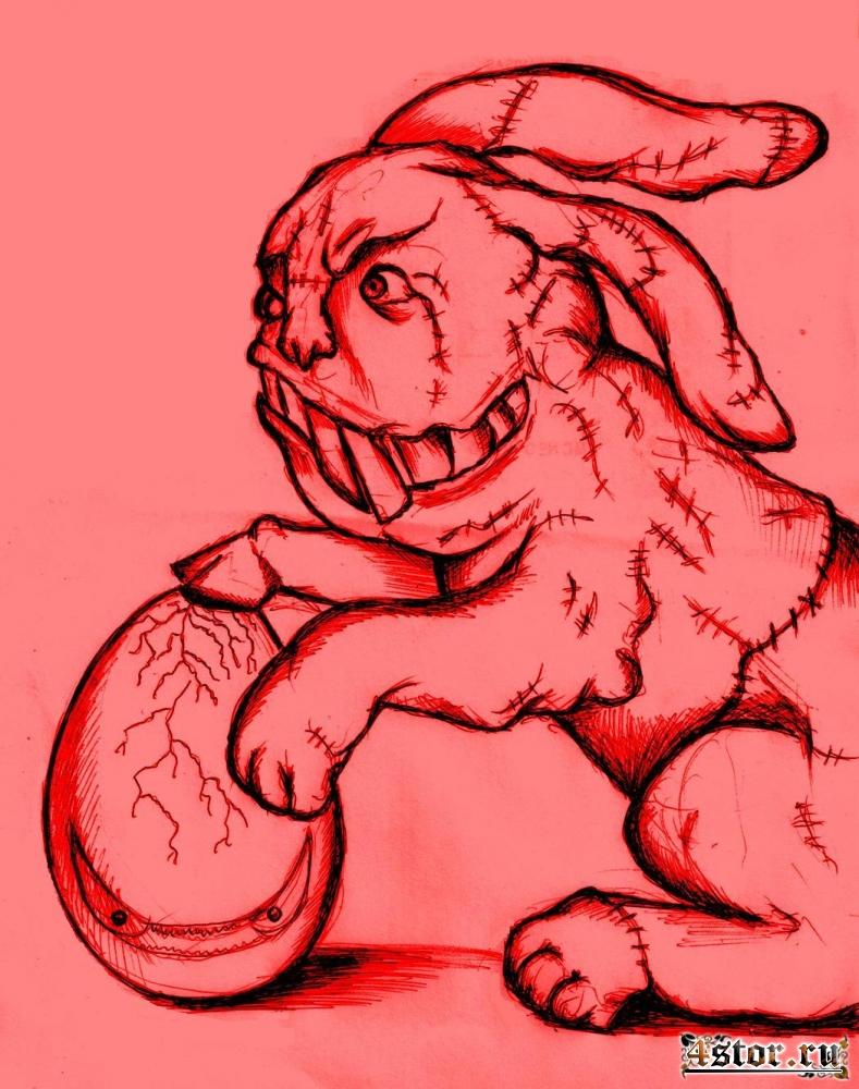 Пасхальный заяц Франкенштейна