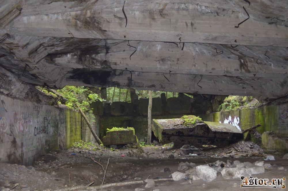 Руины озера Бабелите