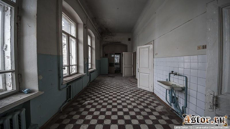 Заброшенный роддом. Город Покров, Владимирская область