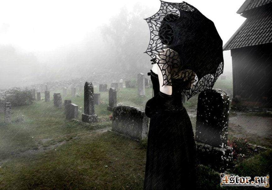Викторианские кладбищенские приметы и суеверия