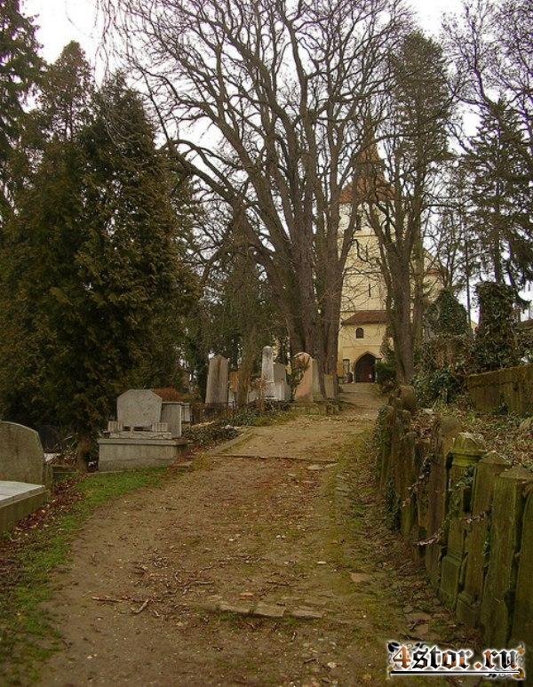 Старинное Немецкое Кладбище Сигишоары