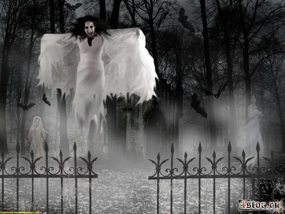 Призрачные хранители кладбищ