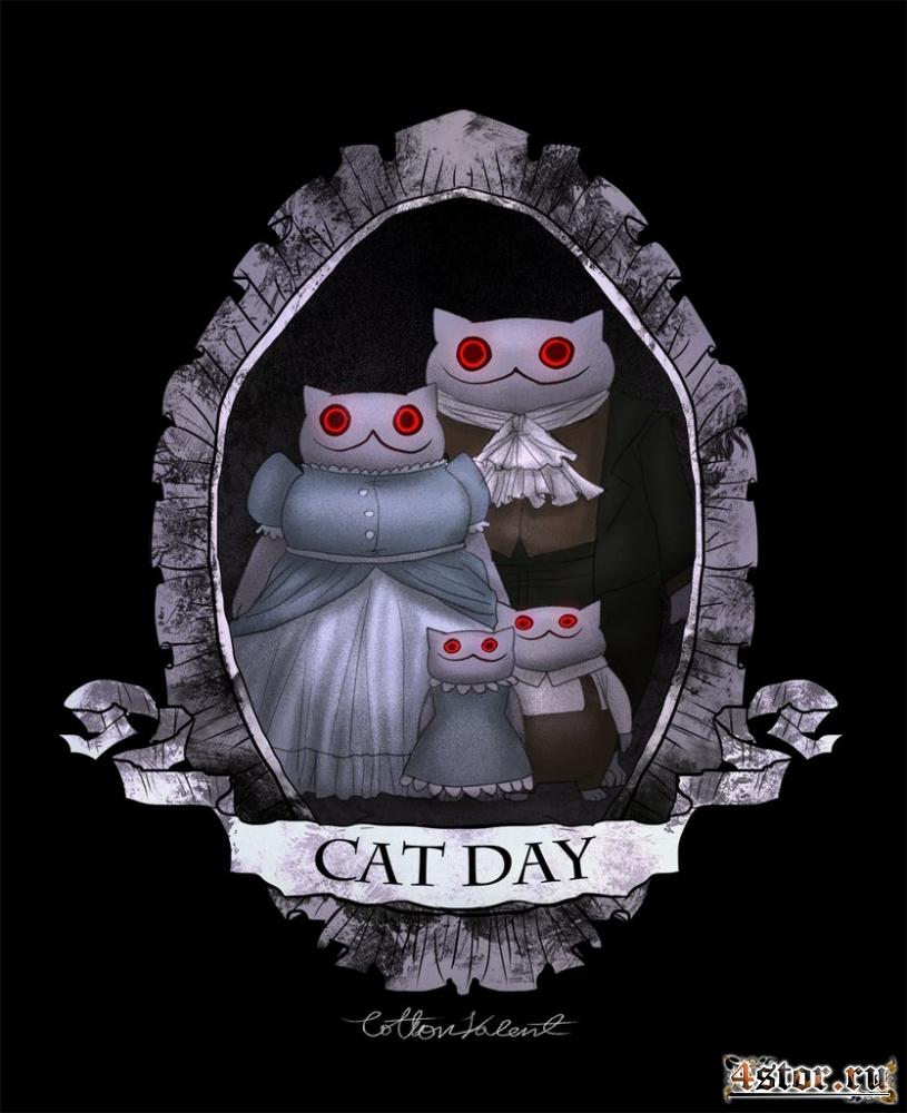 Пугающие котики