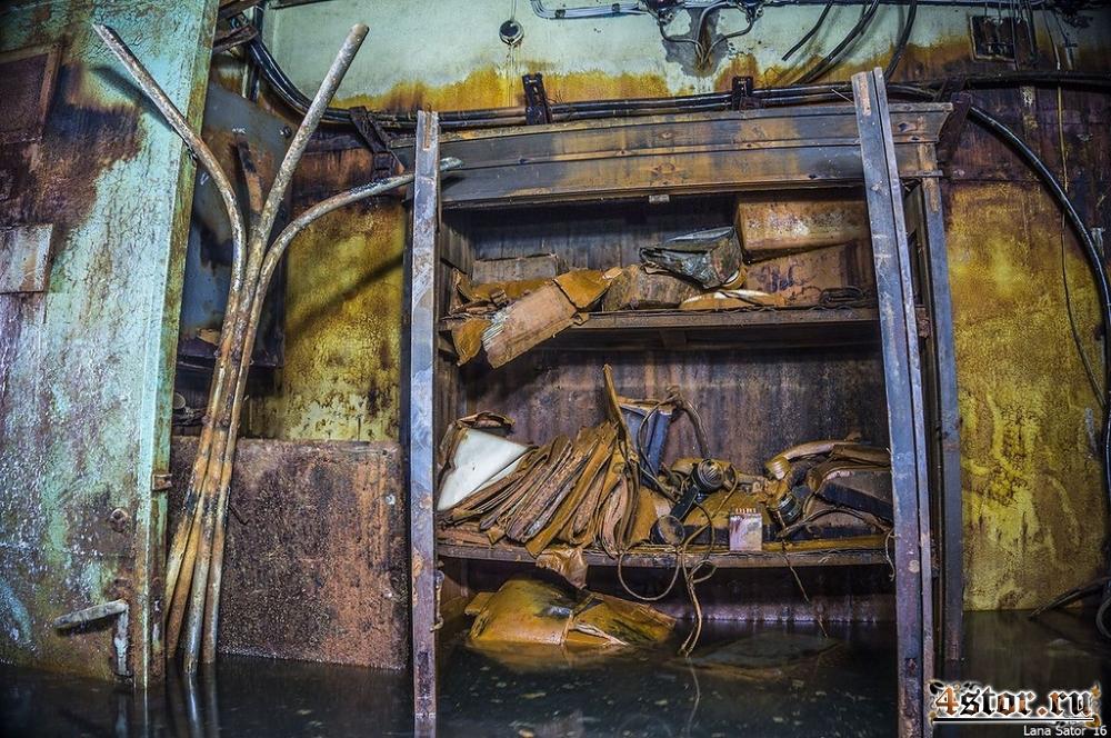 Затопленный резервный пункт управления энергосистемой Санкт-Петербурга