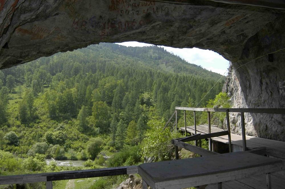 Страшные Алтайские легенды. Чуйский тракт, Денисова пещера - Белая дама