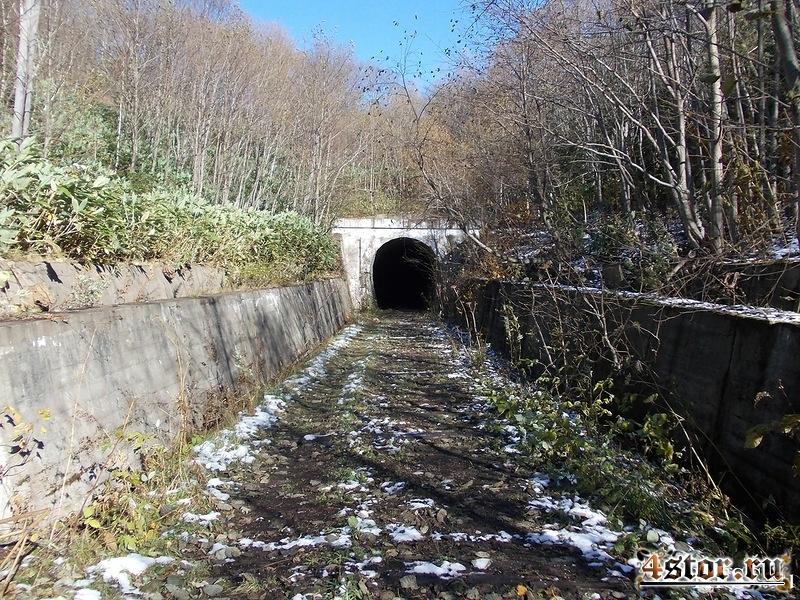 Железная дорога Южно-Сахалинск - Холмск