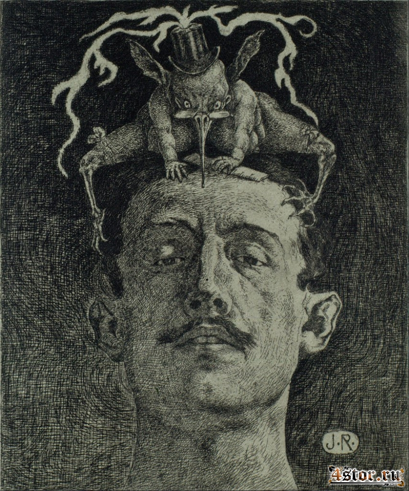 Мексиканский художник Julio Ruelas (1870-1907)