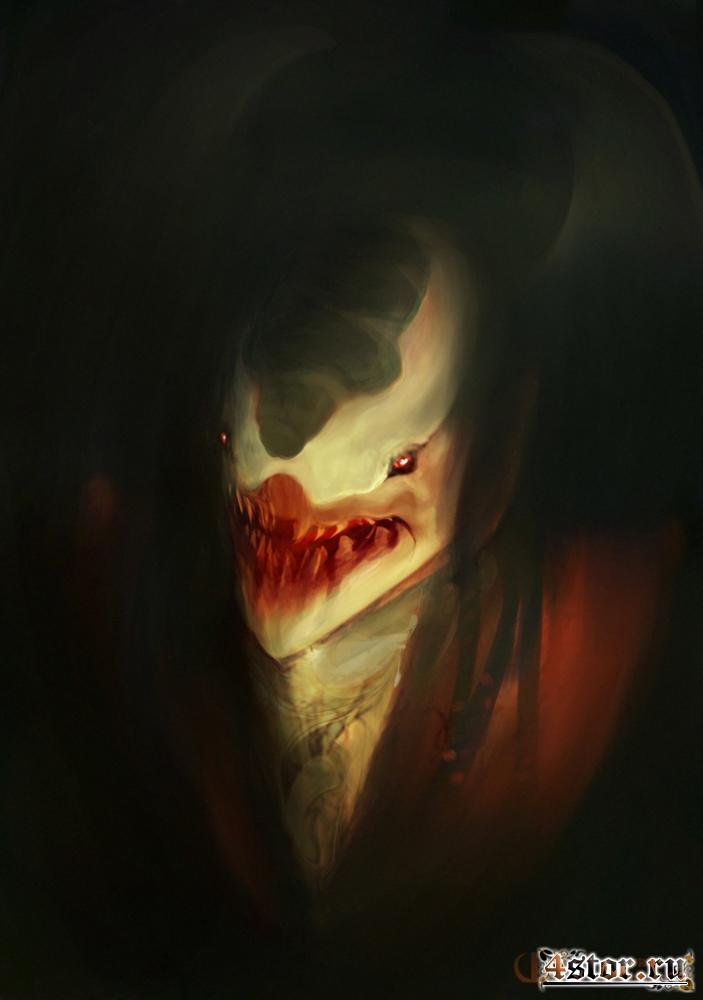 Страшные арты от ourlak