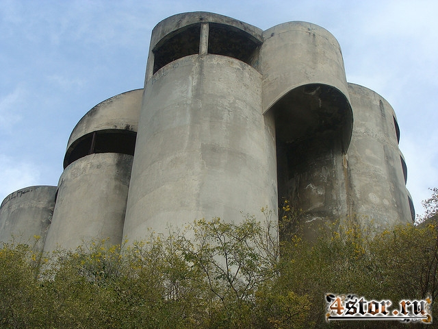 Дом труб. Мексика