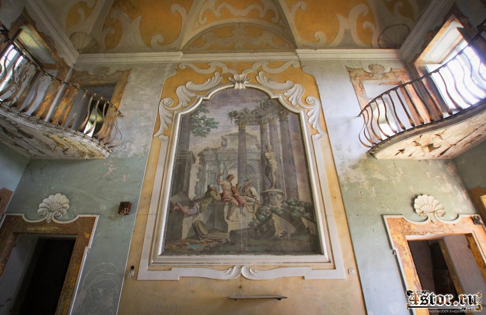 Заброшенная вилла под Флоренцией
