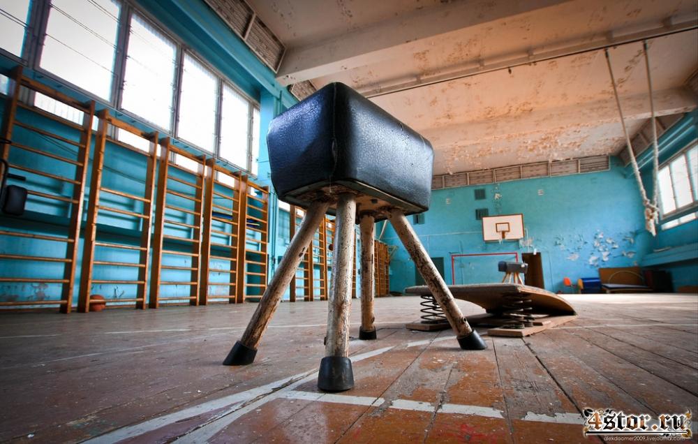 Заброшенная московская школа