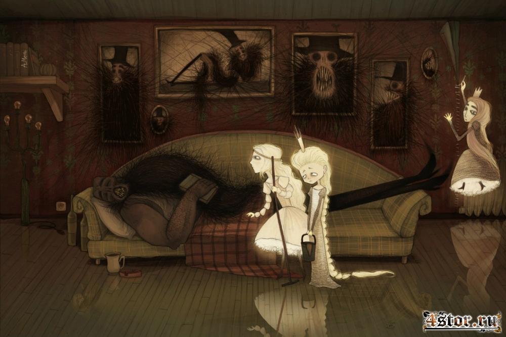 Атмосферные арты от художника A.Mel