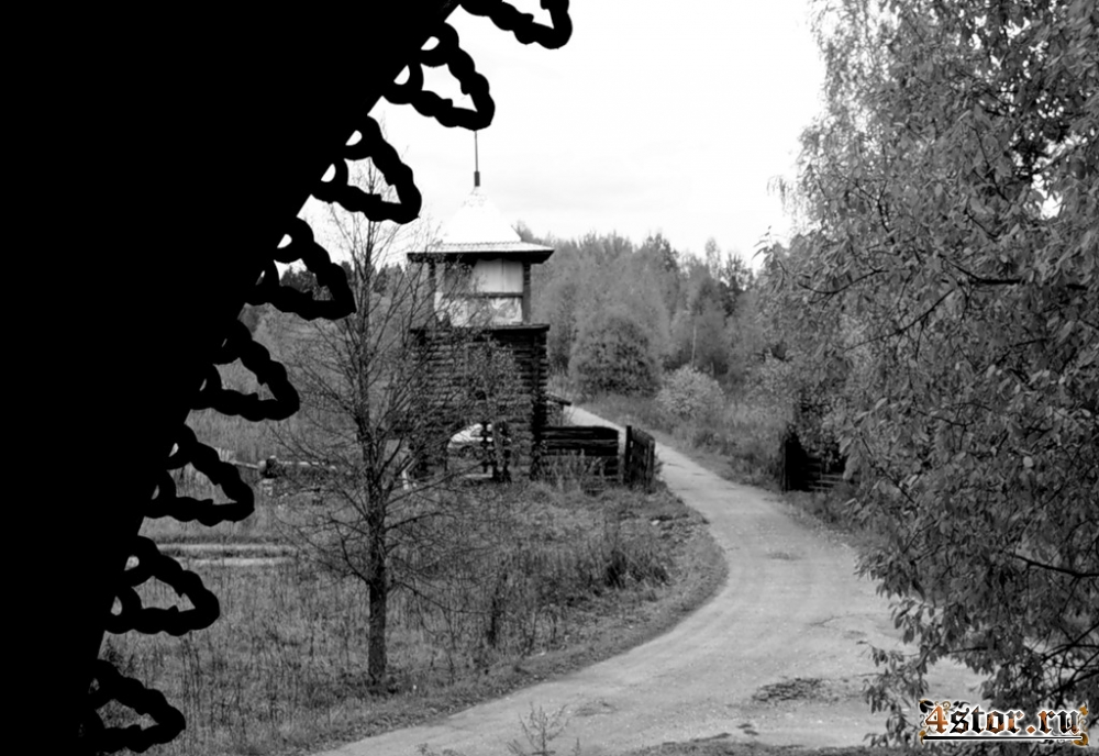 Осень в заброшенном детском городке