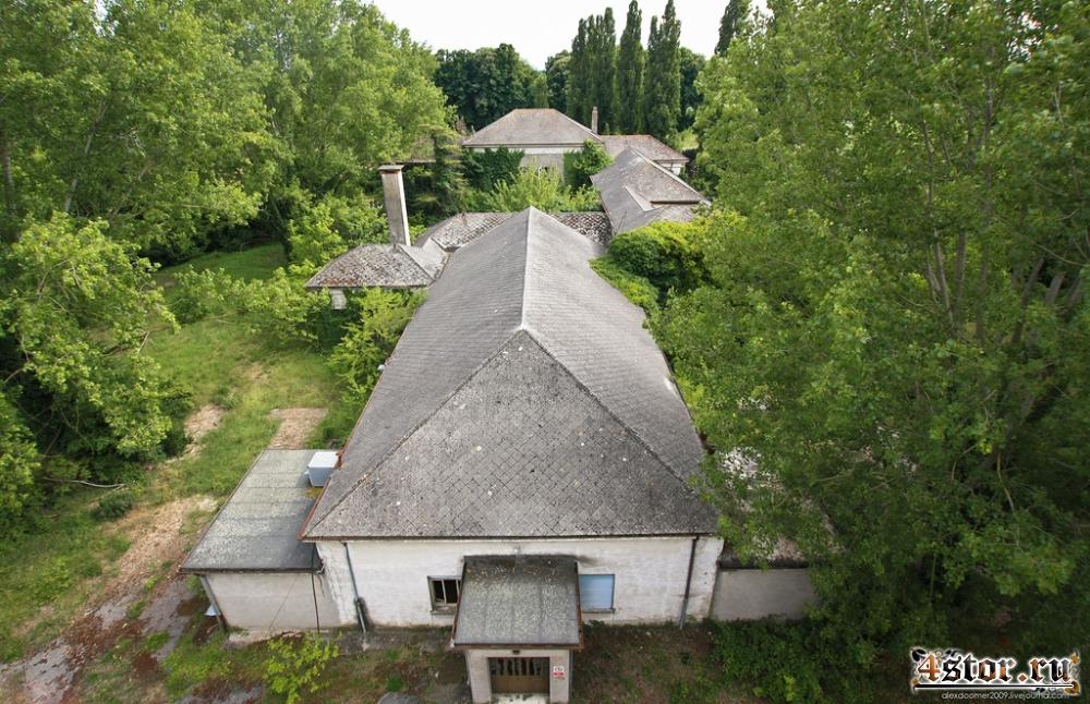 Заброшенная психиатрическая больница Granzette