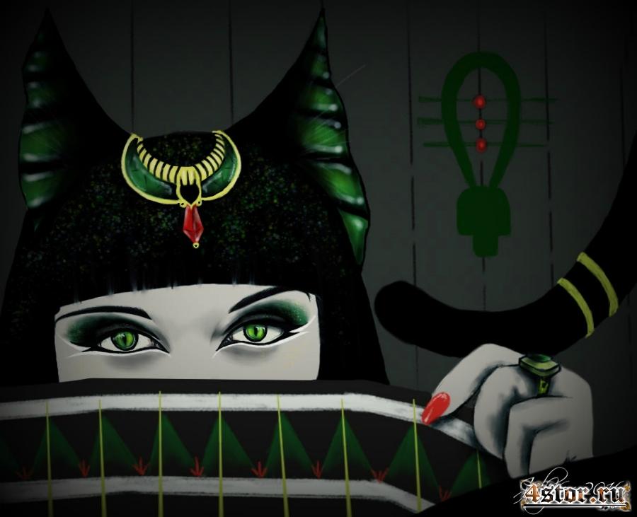 Богиня Кошка (Бастет)