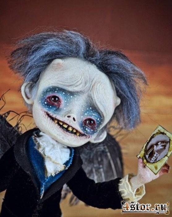Овощи, попкорн и жвачка: наглядный пример того, как художник-самоучка создаёт необычных кукол из подручных средств