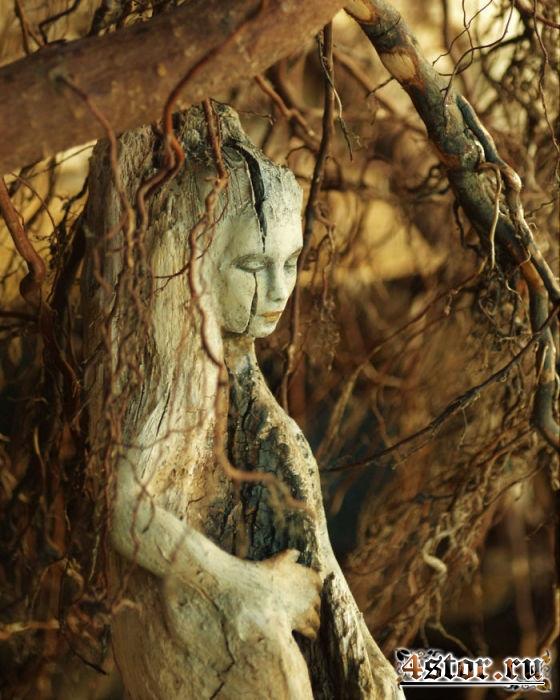 Добро пожаловать в сказку: потрясающие скульптуры из коряг, глядя на которые невольно веришь в чудеса и волшебство