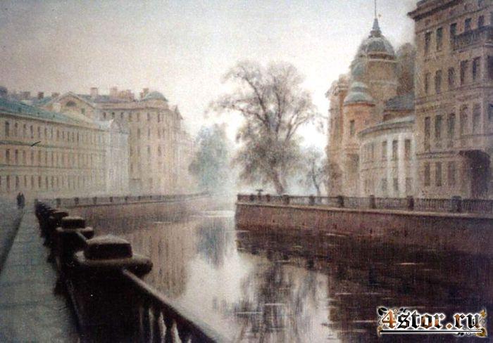 Прогулка с Петербургским призраком