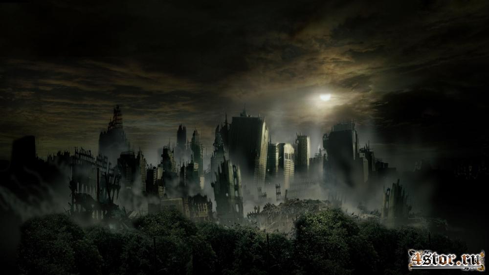 Город мёртвых...