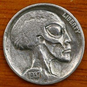 «Инопланетные» монетки